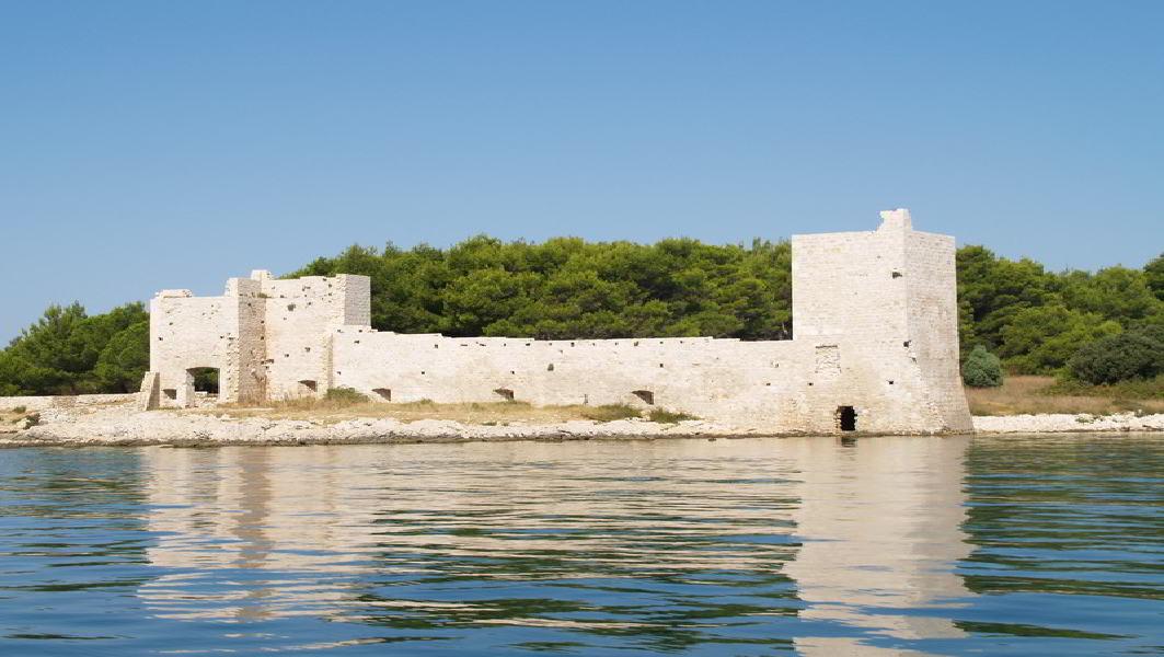 Utvrda Kaštelina – Otok Vir